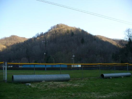 Wharton, Wirginia Zachodnia: I threw in some scenery of some mountains around the baseball field.