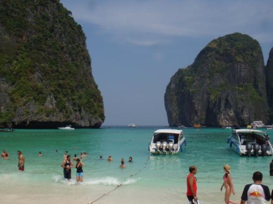"Vang Vieng, Laos: Koh Phi Phi - Phi Phi Island - where they filmed ""The Beach"" with Leonardon DiCaprio"
