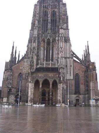 Ulm Münster is the tallest church in the world and probably the finest example of Gothic church