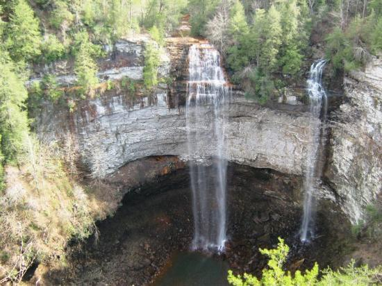 Crossville, TN: Fall Creek Falls, Pikeville, TN. At 256 feet, it is the highest waterfall east of the Rockies.