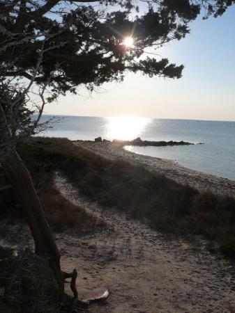 Teach's Hole, where Blackbeard liked to hide the Queen Anne's Revenge on Ocracoke Island.