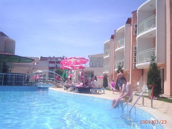Pool picture of sun city hotel sunny beach tripadvisor - Sunny beach pools ...