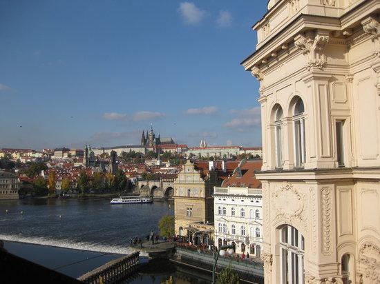 Smetana Hotel : Vista da una delle finestre della stanza