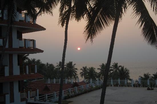 Sagara Beach Resort: view from room