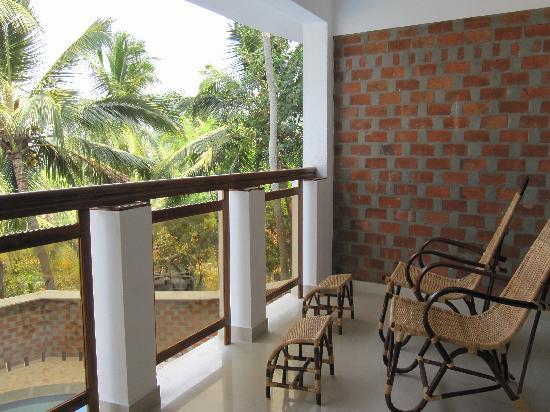 Sagara Beach Resort: balcony
