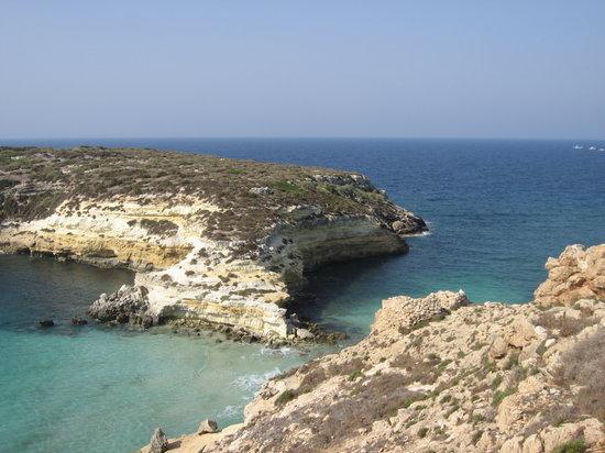 Lampedusa, Italia: isola dei conigli