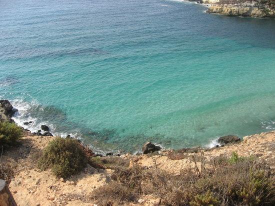 Lampedusa, Italia: mare dell'isola dei conigli