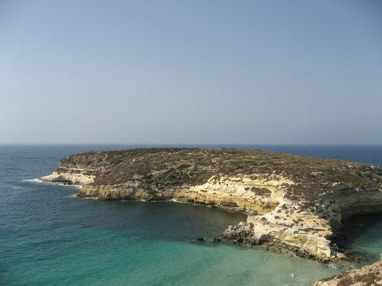 Lampedusa, Italien: isola dei conigli