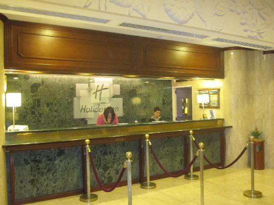 Front Desk, Aurola Hotel Holiday Inn