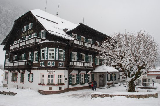 Hoteldorf Gruner Baum: L'edificio principale