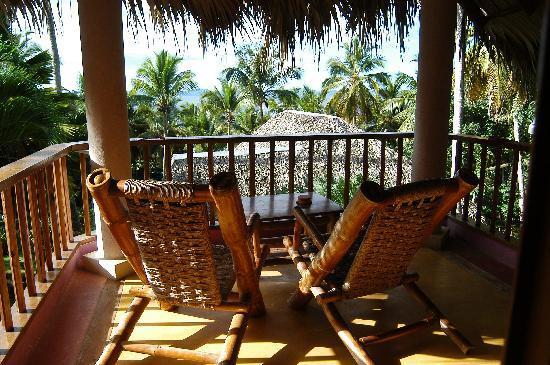 Hotel Las Ballenas Escondidas: vue de notre chambre