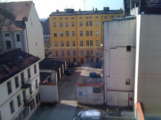 Europeum Hotel: View from room 49