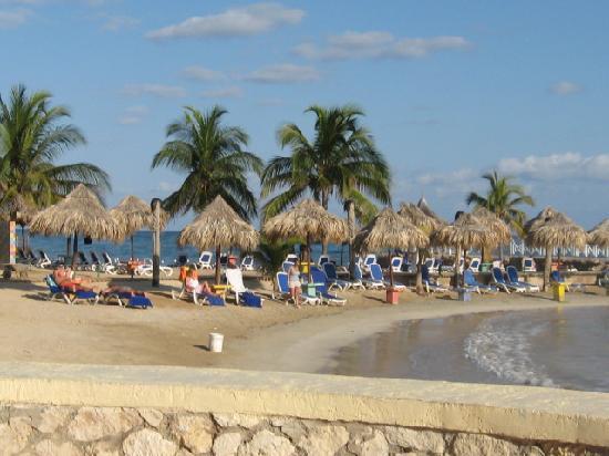 Royal Decameron Club Caribbean: view of beach from buffett