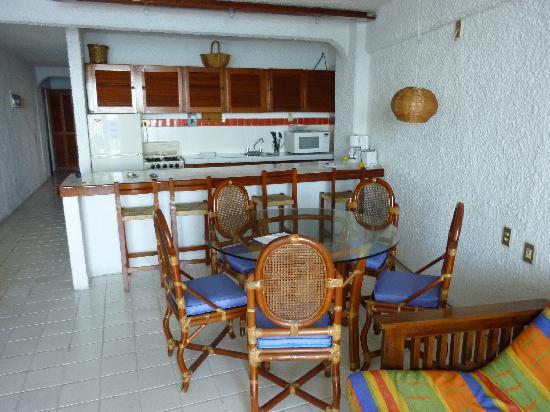 Boana Torre Malibu: Cuisine et salon