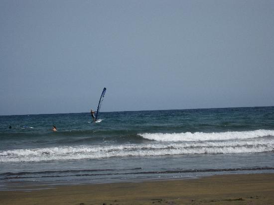 Vincci Tenerife Golf: plage El Medano
