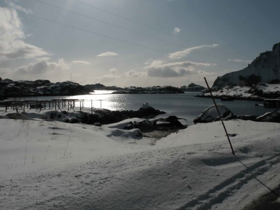 A i Lofoten, النرويج: Contrasti