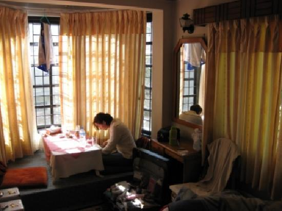 Family Guest House: Room (excuse the mess - private photo?!)