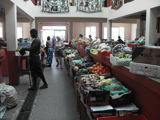 Hotel Riu Karamboa: marché de Sal Rei tous les jours