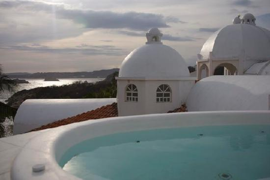 Crucecita, Mexico: vue de la terrasse appartement
