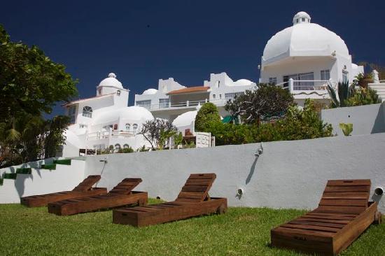 Vue g n rale fotograf a de villas fa sol crucecita for Villas fa sol
