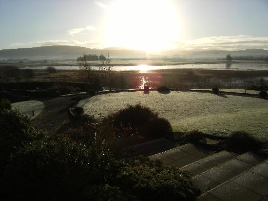 Lochside House Hotel & Spa: View outside Hotel
