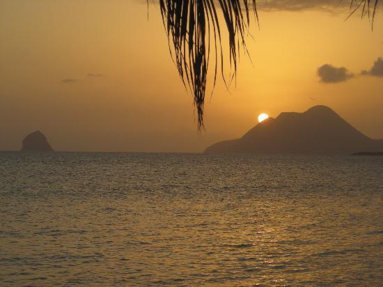 Sainte-Luce, Martinica: couché de soleil