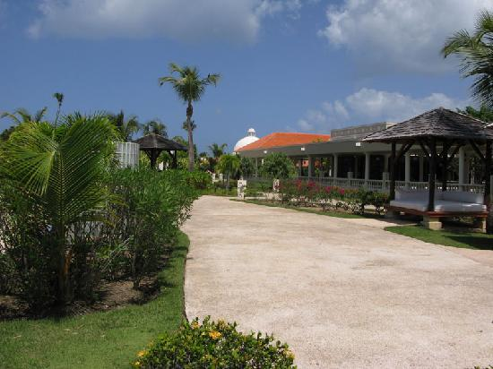 Rio Grande, Porto Rico: resort walk-way