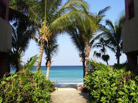 Las Sirenas Hotel & Condos: Accesso alla spiaggia