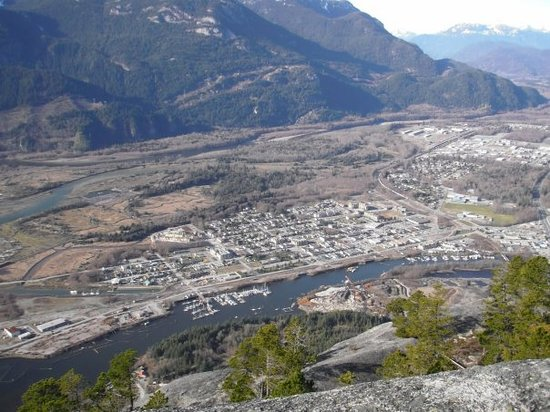 the town of Squamish