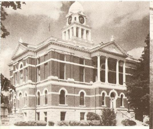 Charlotte, MI: 1885 Eaton County Courthouse Used from 1885-1976