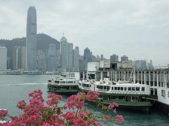 Star Ferry pier in Kowloon