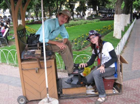 Cochabamba, Bolivia: consiguiendo algunos pssitos