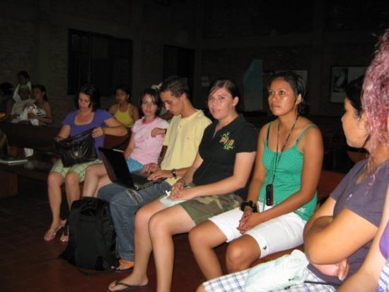 Santa Cruz, Bolivia: al llegar en la Iglesia Metodista