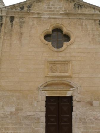 Nazareth, Israel: Church of Mensa Christi.  The gate was locked, and we had to ask an old lady across the street f