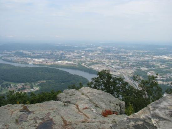 Chattanooga, TN: View from Point Park (Lookout Mtn)