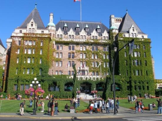 Empress Hotel National Historic Site of Canada: I want to go back to enjoy this a little more some day!