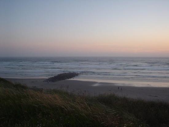 Nye Beach: Newport beach