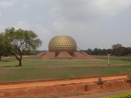 Pondicherry, India: Matrimandir - Auroville
