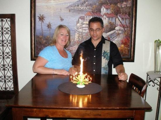 Lodi, CA: Kelly's B-Day Candle. Cool Candle - It played a Happy Birthday tune too.  You can send this c