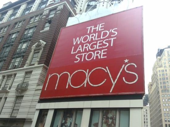 Bilde fra Macy's Herald Square