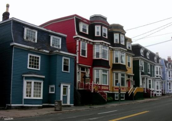 St. John's, Kanada: St-John's famous houses.