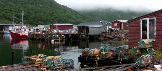 St. Johns, Canada: Fishing village