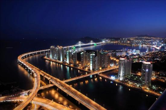 Busan, Sydkorea: I miss my home
