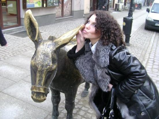 Torun, Polen: mmm....kiss... iaaaa