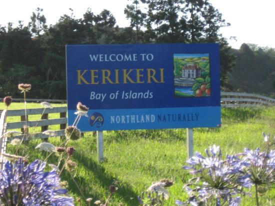Kerikeri, New Zealand: Small town near the north tip of New Zealand's North island.