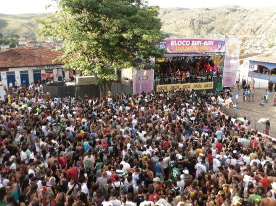 Diamantina, Bundesstaat Minas Gerais, Brasilien, Karnevall