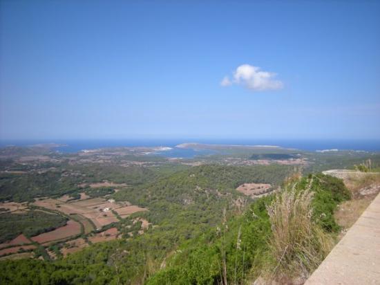 Cala Galdana, España: Vista dal Monte Toro