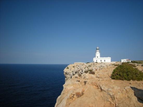 Cala Galdana, España: Capo Cavalleria FaroVista