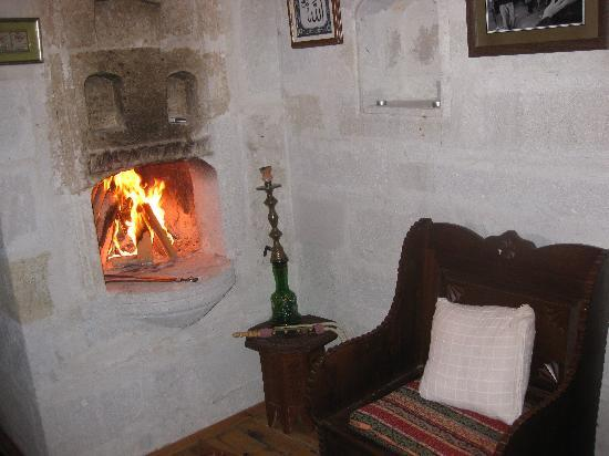 Fireplace Located In Separate Alcove From Room Picture Of