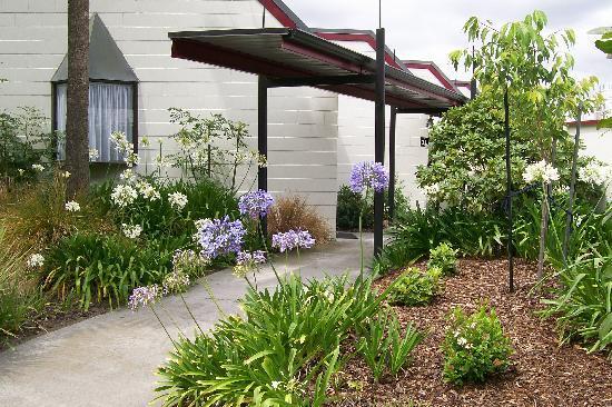 Gothic Heights Motel: Front Garden
